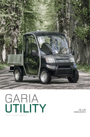 PDF-Download GARIA City und Park Elektrotransporter von POWERTEC E-Mobility